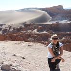 Passeio ao Valle de la Luna e Valle de la Muerte no Deserto do Atacama