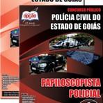 APOSTILA POLICIA CIVIL GO PAPILOSCOPISTA POLICIAL 2014