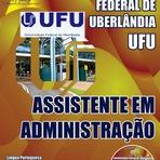 Concursos Públicos - Apostila Universidade Federal de Uberlândia UFU/MG - Auxiliar em Administração