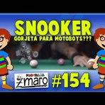 Snooker, dar ou não dar gorjeta aos motoboys e muito mais - Programa Zmaro 154