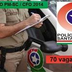 Concursos Públicos - Apostila Polícia Militar de SC 2014 - Curso de Formação de Oficiais - CFO SC