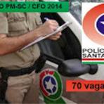 Concursos Públicos - Apostila Polícia Militar de SC - Santa Catarina Concurso CFO  SC Curso de Formação de Oficiais SC 2014