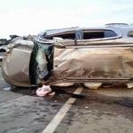 Morreram 5 pessoa em grave acidente na BR-406 na cidade de Jandaíra/RN