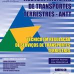Apostila para o concurso da ANTT Cargo - Técnico Em Regulação De Serviços De Transportes Terrestres