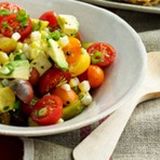 RECEITA: Salada Colorida