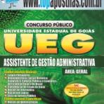 Apostila Concurso UEG 2015 Cargo Assistente de Gestão Administrativa[+CD Gráis]
