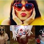 Óculos Em Forma De Coração, As Mais Lindas Opções!