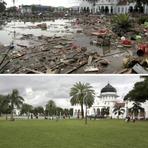 Dez imagens de como a Indonésia se recuperou do tsunami em 10 anos