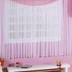 Cortinas para quarto de bebê menina