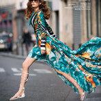 O estilo hippie chic no editorial janeiro 2015 da Harper's Bazaar China