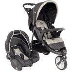 Carrinho Travel System Com Bebê Comforto Fox Pt - Kiddo