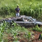 Pai e filho morreram em acidente nesta madrugada de 1º de janeiro.