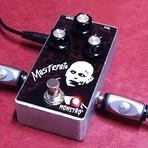 Pedal Handmade Mosferatu Overdrive   True By Pass   MONSTRO EFFECTS