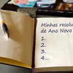 Resoluções de ano novo - Como fazer e mantê-los em prática