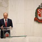 Com ausências de FHC e Aécio Neves , Geraldo Alckmin toma posse em SP - 01/01/2015