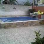 Modelo de piscinas pequenas
