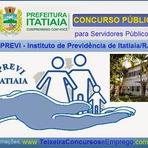 Concursos Públicos - A Prefeitura Municipal de Itatiaia abre concurso do IPREVI de Itatiaia-RJ para servidores públicos
