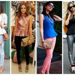 Modelos de calças skinny 2015