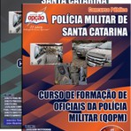 Apostila para o concurso do Policia Militar SC Cargo - Curso De Formação De Oficiais Da Polícia Militar qopm