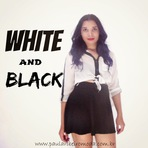 Look 1# White and Black