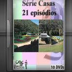Série Casas 21 Episódios 10 DVDs