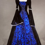 Você sabe como eram os vestidos medievais?