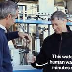 Bill Gates e a máquina que transformar esgoto em água potável