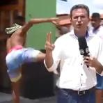 """Violência - Jornalista leva voadora ao vivo no Piauí: """"Ele deu um chute na imprensa"""""""