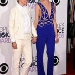 Ellen DeGeneres e Portia De Rossi no Peoples Choice Awards