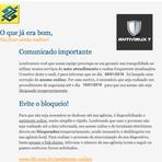 Segurança - Banco do Brasil - Comunicado Importante. Protocolo N.º: ud96e