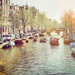 Os canais da Holanda