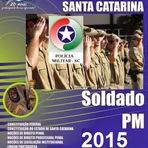 Concursos Públicos - Apostila PMSC Soldado PM - Policia Militar de Santa Catarina - 2015
