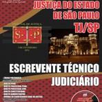 Apostila Concurso Tribunal de Justiça do Estado SP TJSP  2015 Edital
