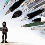Arte & Cultura - 26 Cartunistas do Mundo Prestam Homenagem às vítimas do tiroteio Charlie Hebdo