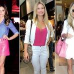Moda & Beleza - Cor rosa deixa o visual mais moderno e sofisticado
