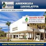 Empregos - Apostila Concurso AL/GO Assembleia Legislativa de Goiás - Assistente Legislativo 2015