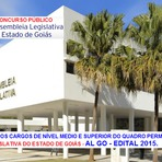 Apostila Concurso AL/GO Assembleia Legislativa de Goiás - AL/GO - Assistente Legislativo - Assistente Administrativo