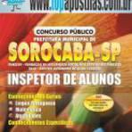 Apostila Concurso Prefeitura de Sorocaba 2015