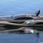 Mega iate designer sueco Eduard Gray - 75m de luxo