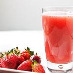 Reduza o colesterol e emagreça com suco de morango e gengibre