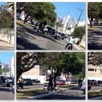 Troca de tiros e perseguição em avenida movimentada em Natal