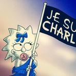 Internacional - Charlie Hebdo   Veja homenagens de cartunistas aos mortos no atentado