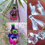 Reciclando Garrafas Pet com Criatividade
