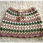 Mini Saia de Crochê para o Verão!