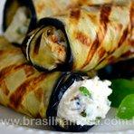Rolinhos de Berinjela com Ricota | Receitas - Dietas - Gastronomia - Brasil na Mesa
