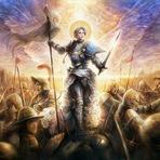 Santa Joana D'Arc e a Lição aos Cavaleiros Templários