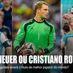 Messi, Cristiano Ronaldo e Neuer disputam Bola de Ouro nesta segunda