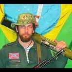 Voluntário brasileiro em combate na Ucrânia