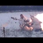 UCRÂNIA - Brigada Slavyansk atacando o Exército Ucraniano