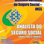Apostila para o concurso do INSS Cargo - Analista Do Seguro Social - Formação Em Administração